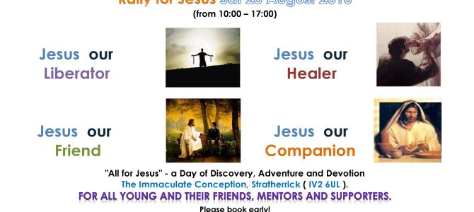 Highland Deanery – Rally For Jesus