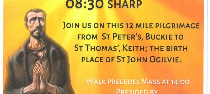 St John Ogilvie Walking Pilgrimage