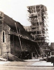 Construction of St Mary-the-Virgin, Kenton