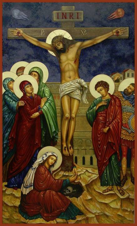 Image result for mary embrace christ crucified