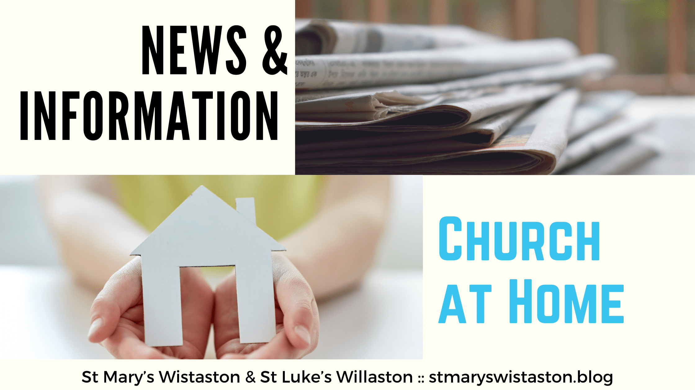 News & Church at Home