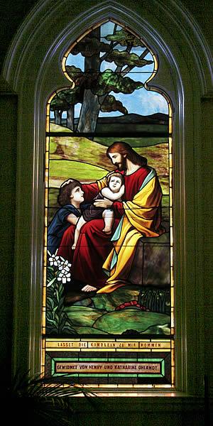 Christus mit Kindern