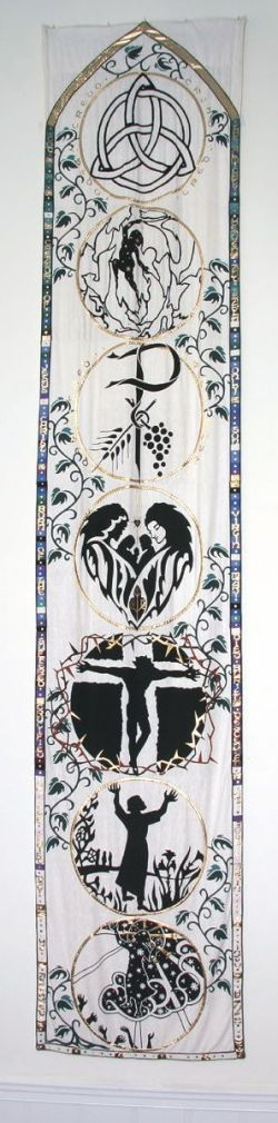 St Matthews right banner