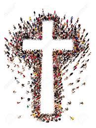 people cross