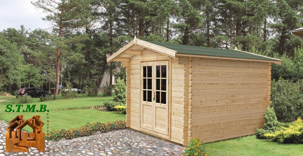 cabanon de jardin 12m2 stmb construction chalets bois com