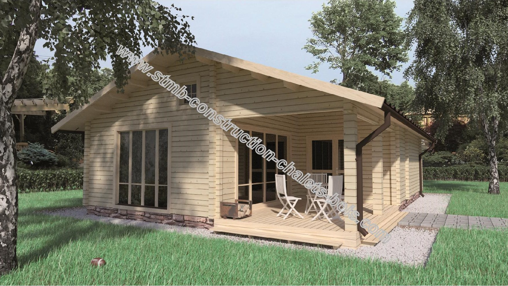 Maison en bois en kit  les avantages