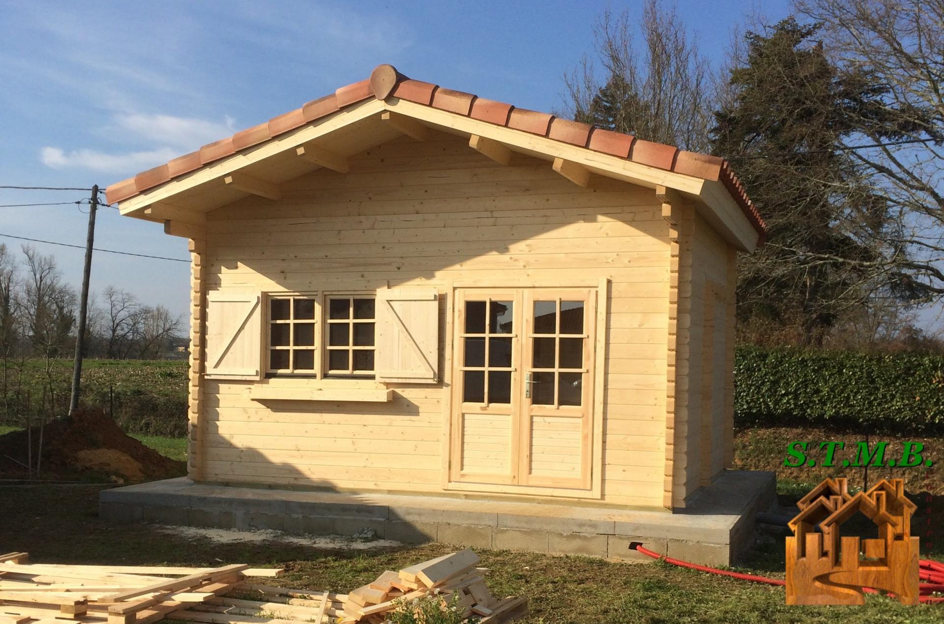 chalet en bois sans permis de construire laurier 20 mezzanine sb stmb