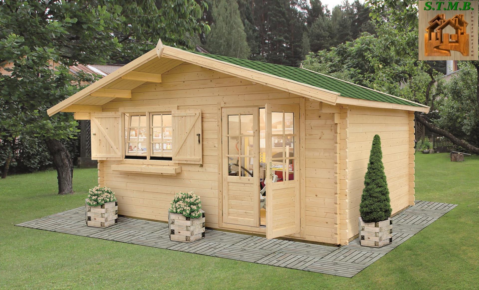 Maison de jardin en bois  stmbconstructionchaletsboiscom