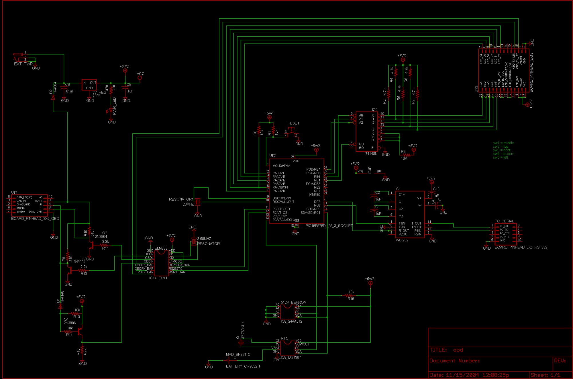 hight resolution of obd schematic elec intro website the obd cable for adapter is it the right adapter for