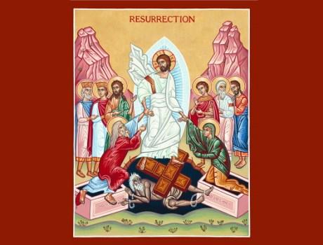 St. Michael Pascha Card 2021