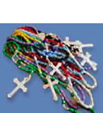 Help support the Rosary-Scapular apostolate - thousands of rosaries made every year