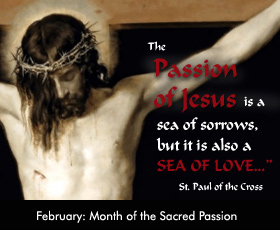 February: Month of the Sacred Passion