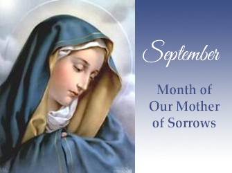 September: Month of Our Mother of Sorrows