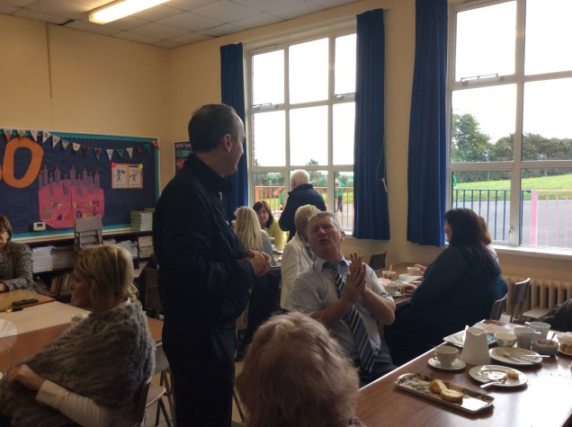 The Friends of St Michael's were delighted to welcome Fr Greg Carville, parents & members of our community to our tea/coffee reception after the Start of School Year Mass.