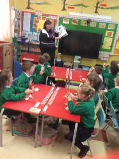Room on the Broom with P1 & P2 pupils