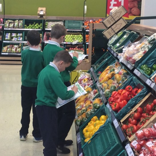 2016/17, (P5-P7): October - Tesco Trip