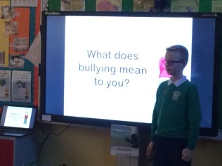 2016/17, (P6 & P7): Anti- Bullying Presentation