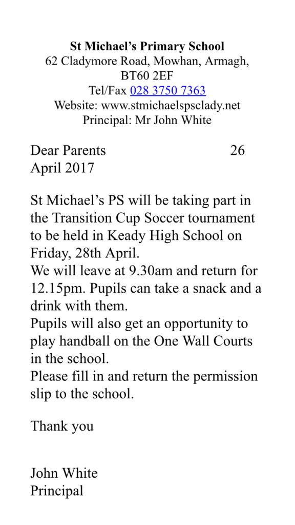 2016/17, Soccer Transition Cup