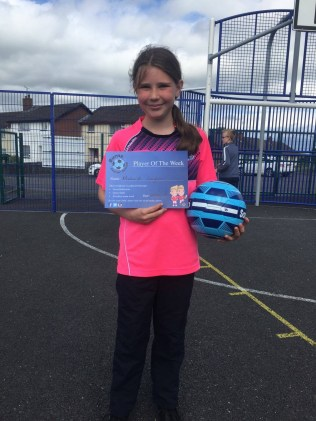 2016/17, Burns Soccer School P4-P7 Player of the Week