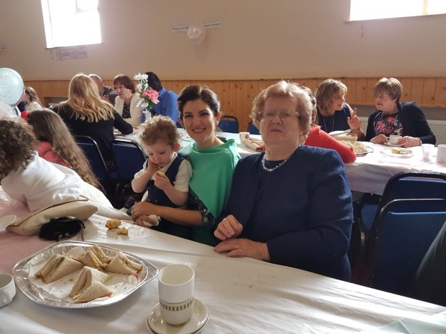 2016/17, First Communion Reception