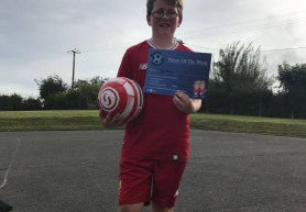 Burns Soccer School - Player of the Week