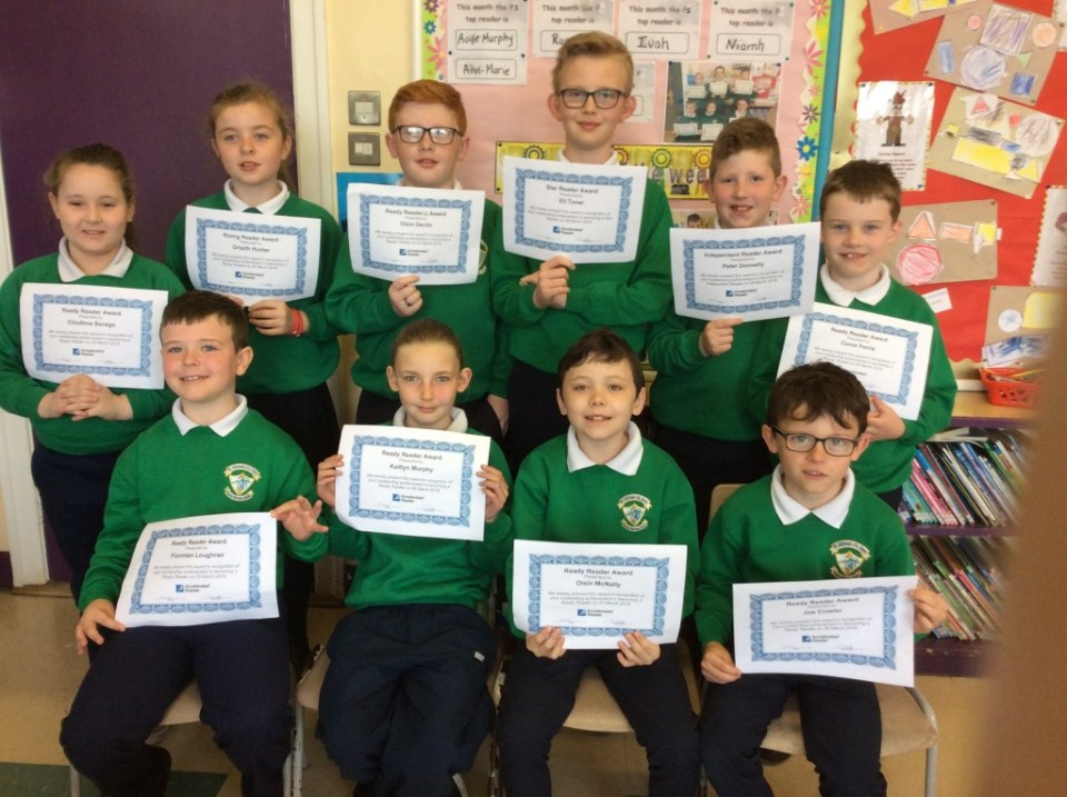 ? Accelerated Reading Awards - 8th May