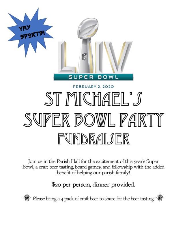 2020 Super Bowl Fundraiser