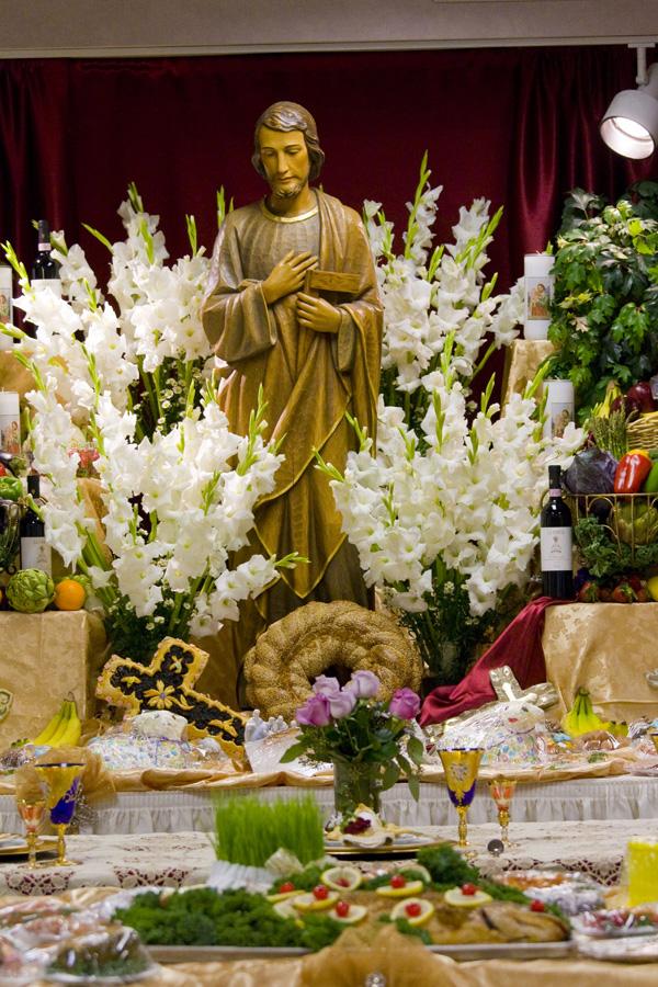 Saint Joseph Table Saint Thomas More Parish