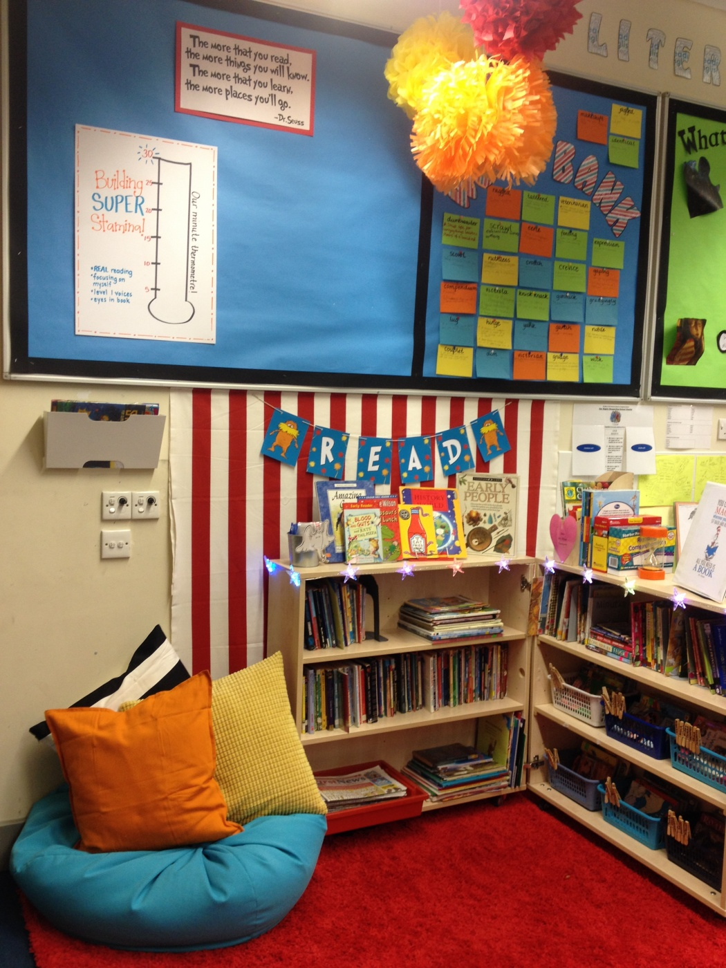 New Book Corner  St Mary  St Pancras Primary School Camden London