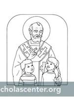 St. Nicholas Center ::: Pictures to Color