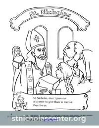 St. Nicholas Center ::: Coloring & Activity Sheets