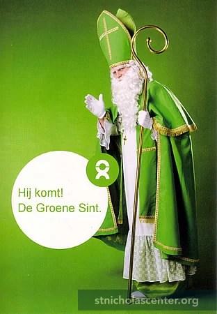 St Nicholas Center Sinterklaas Goes Green