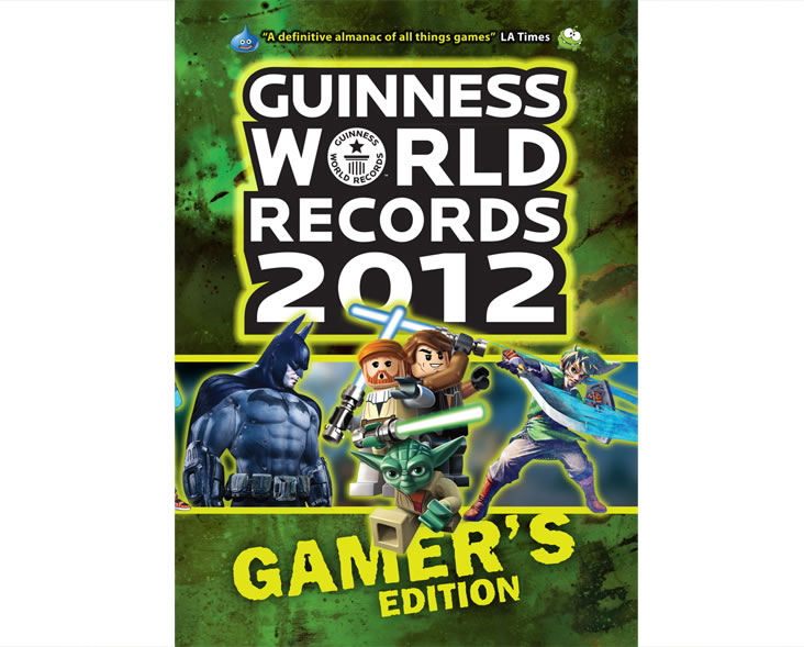 Book design for Guinness World Records