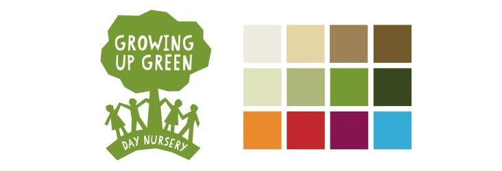 Nursery logo design