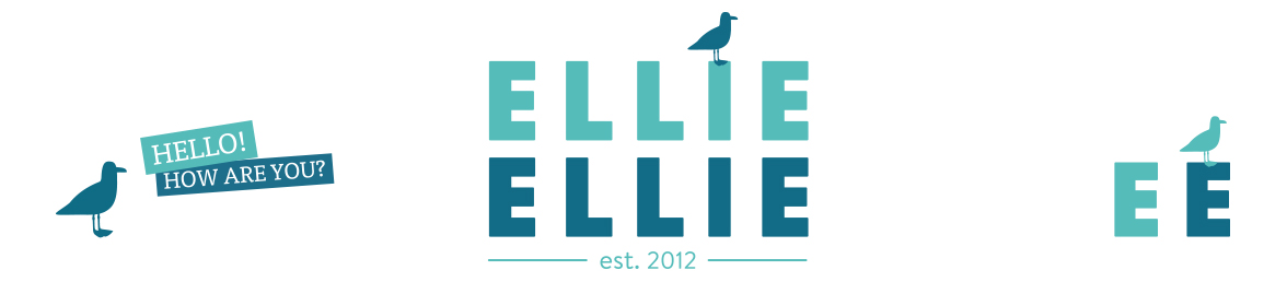 Ellie Ellie logo design work