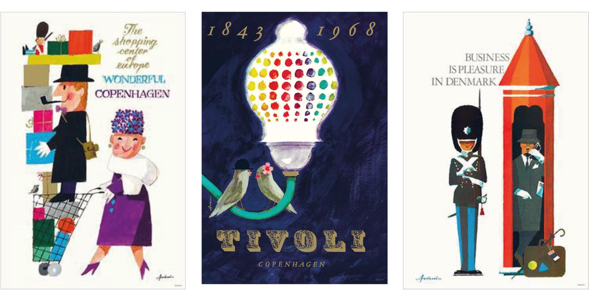 Ib Antoni poster designs