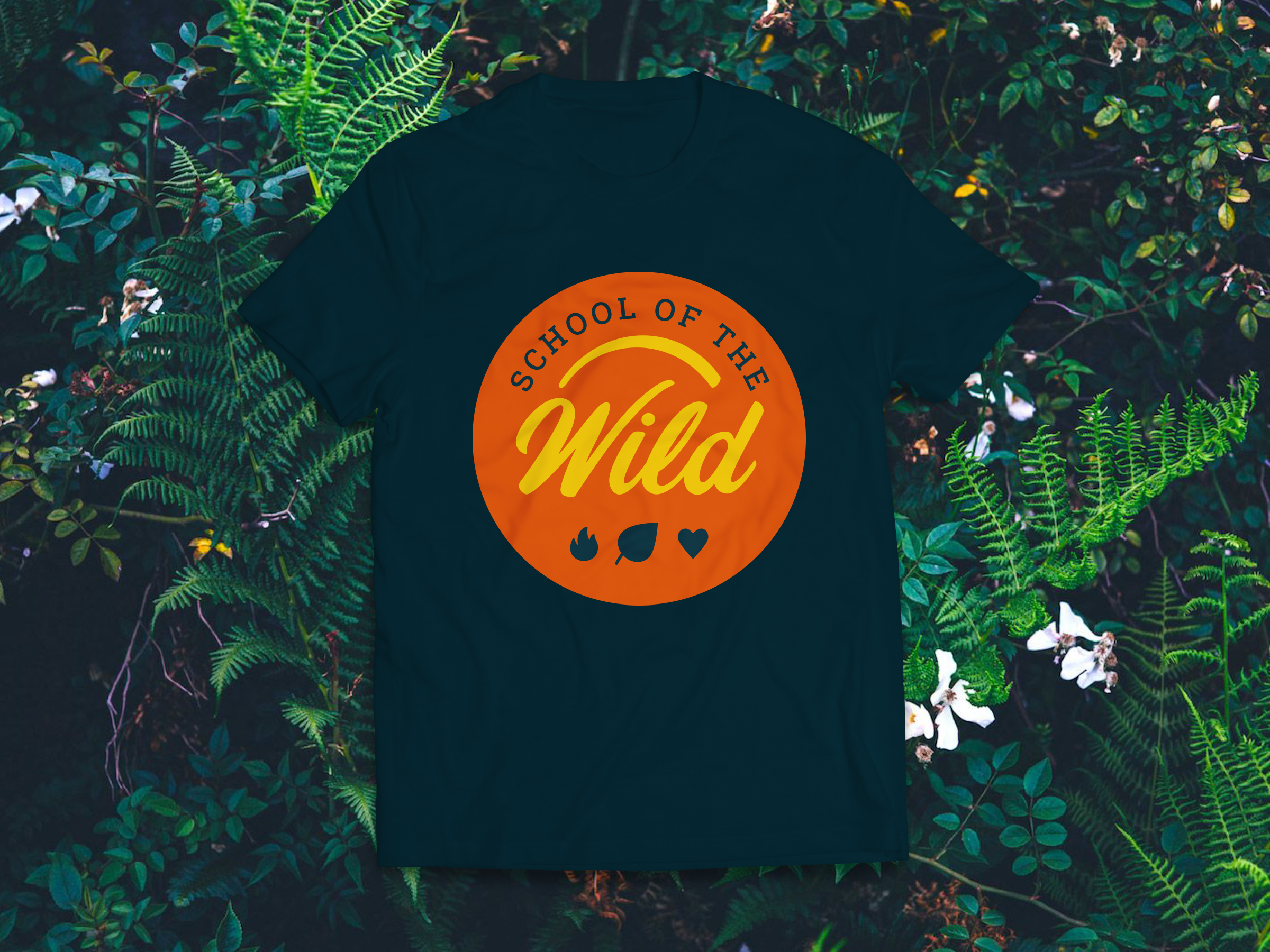School of the Wild tshirt designs