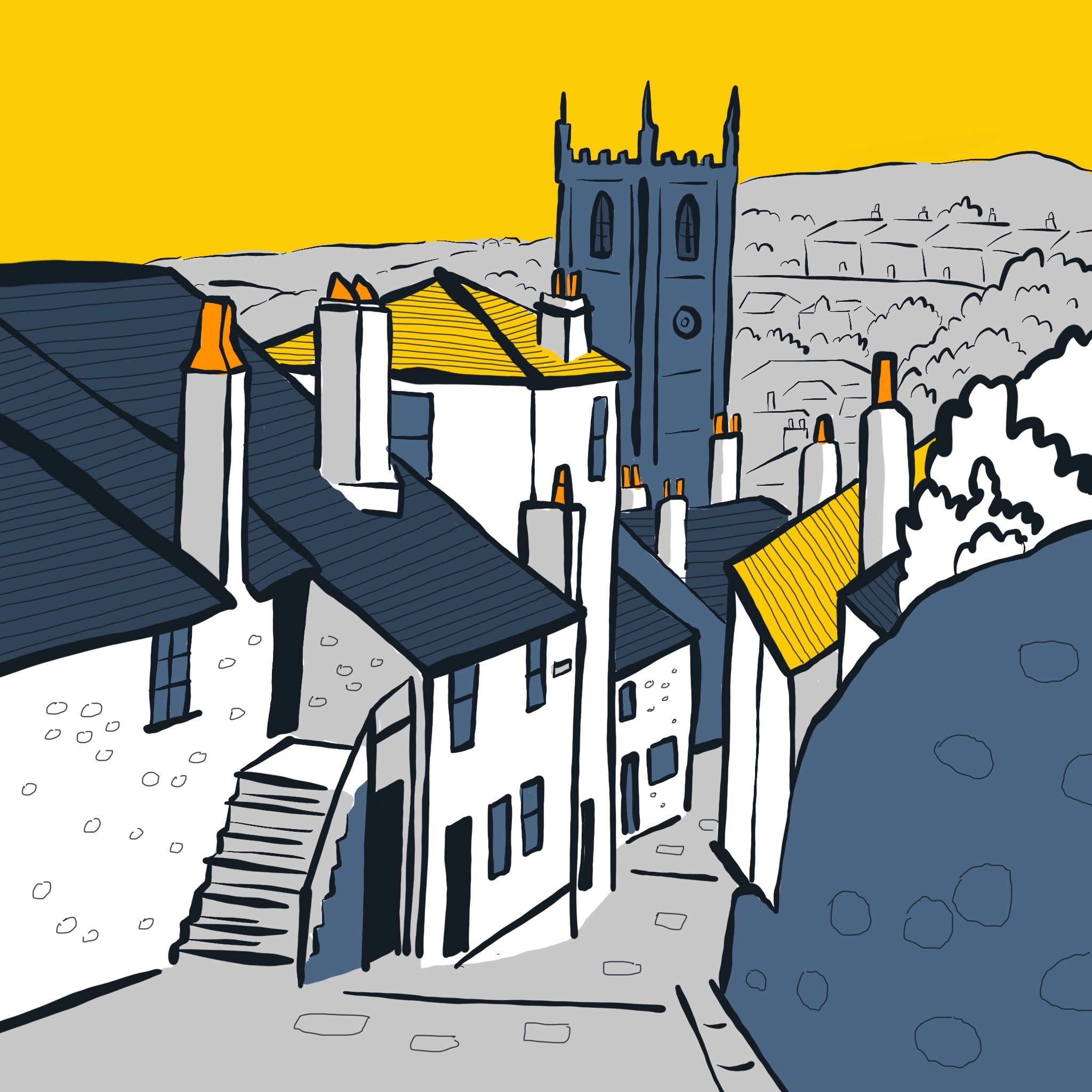 St Ives illustrations