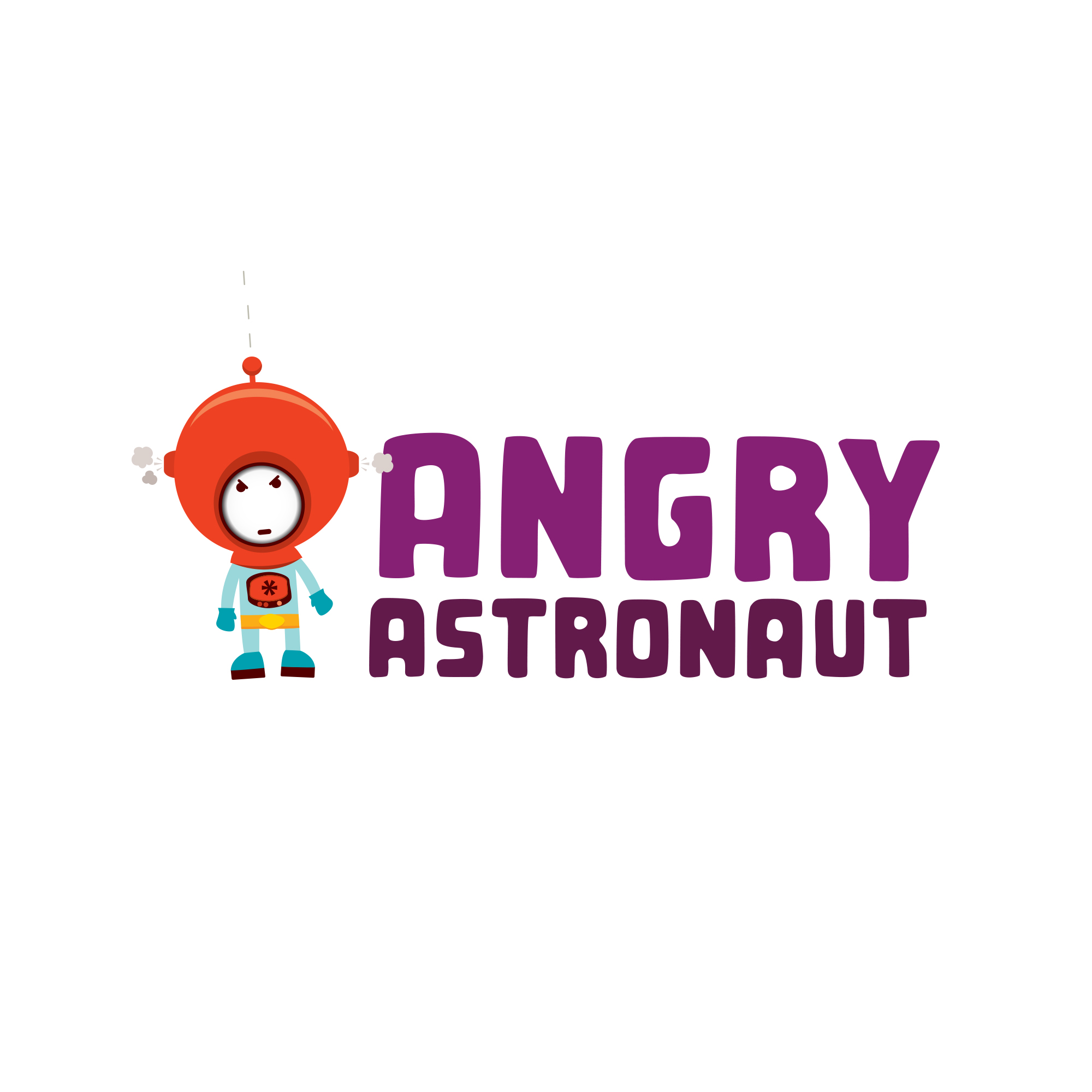 Logo design for Angry Astronaut