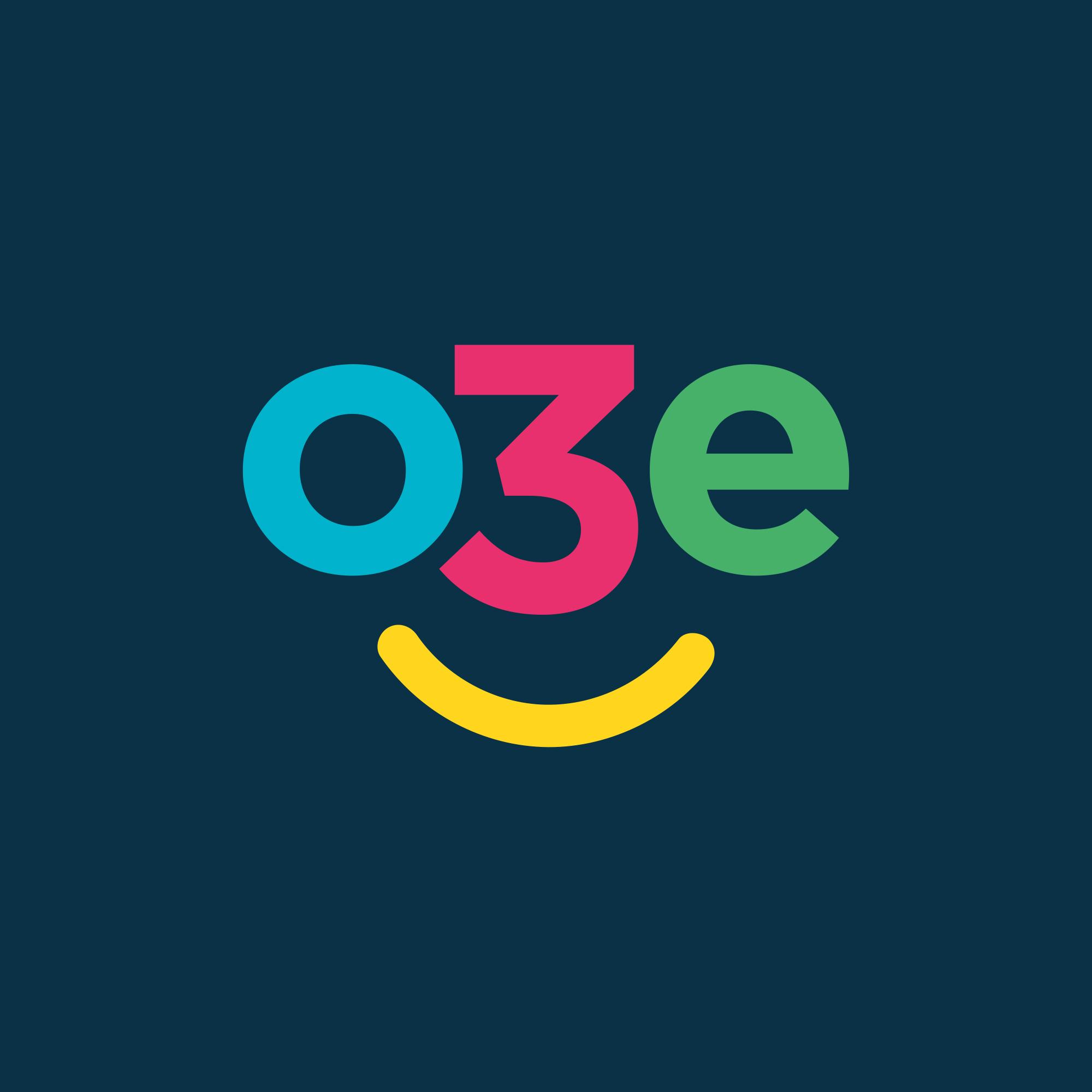 Logo design for O3e