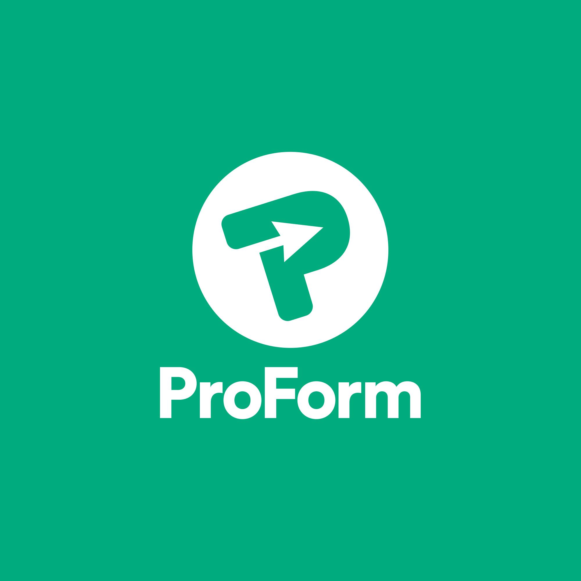 Logo design for ProForm