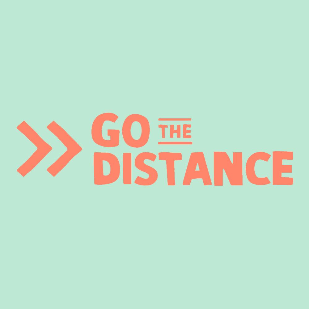Go the distance logo
