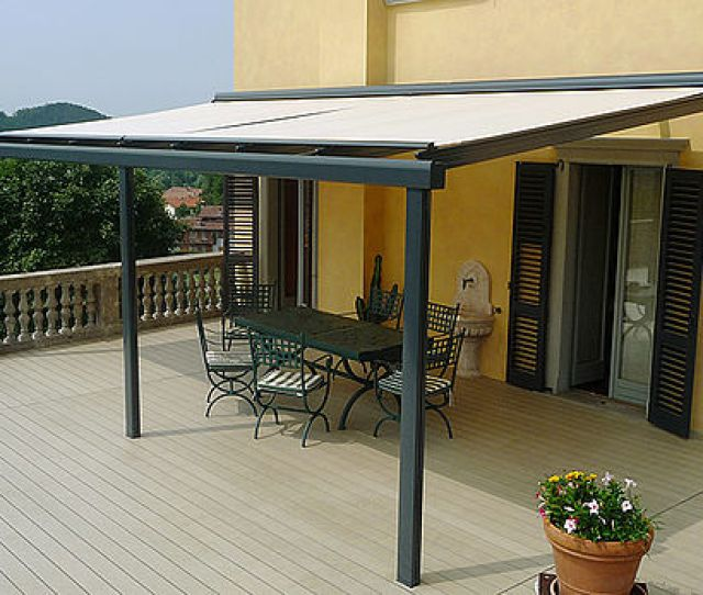 Glass Roof System Terrado Gp Sun Protection And Weather Protection With Stobag