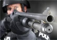 Escopeta policial