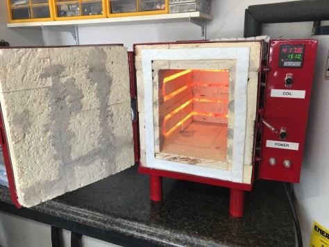 Heat Treat Oven   Stockbridge Locomotive Works