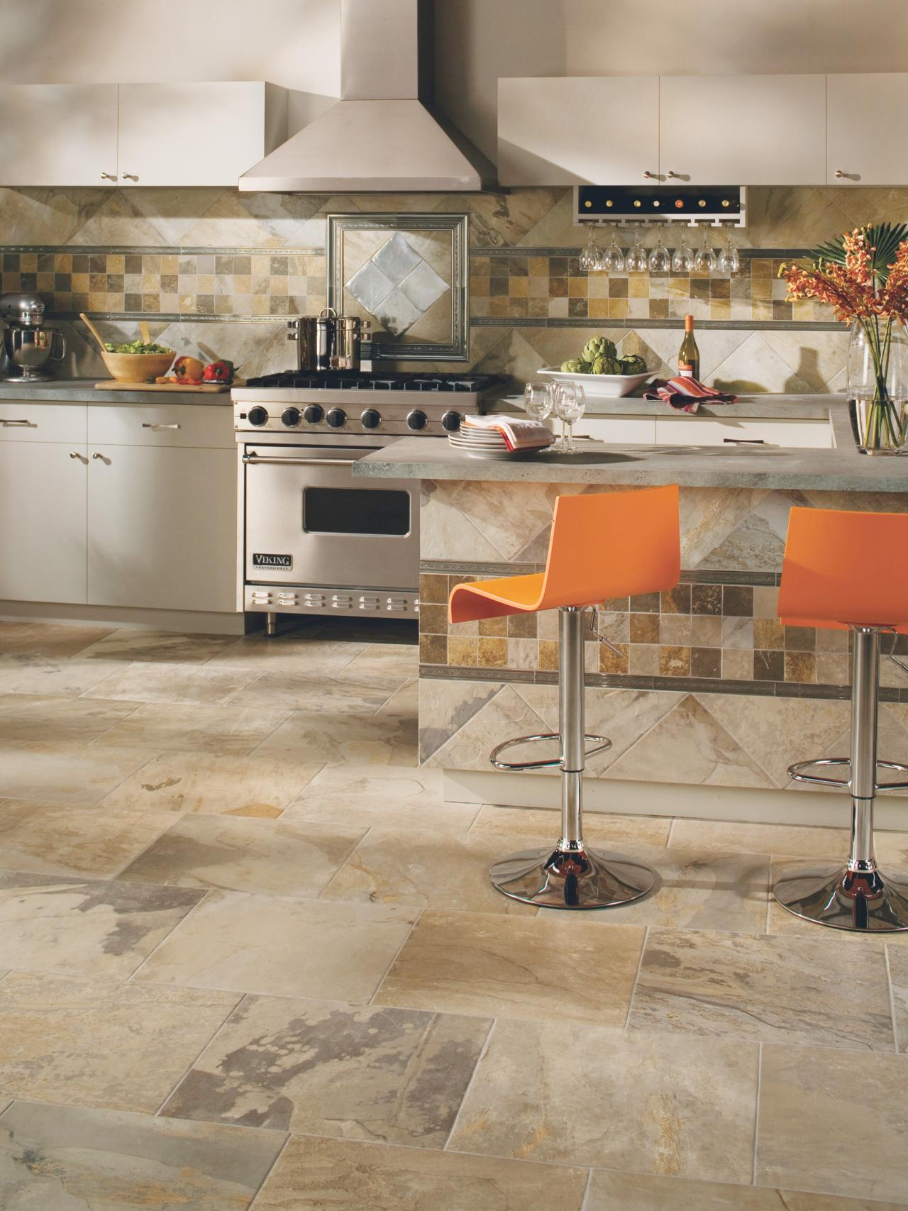 tile kitchen dining room tables the pros cons of ceramic flooring for your modern design with photo source hgtv