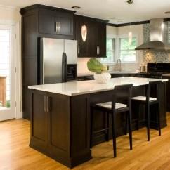 Chocolate Kitchen Cabinets Sink 33x19 Design Tips For Dark