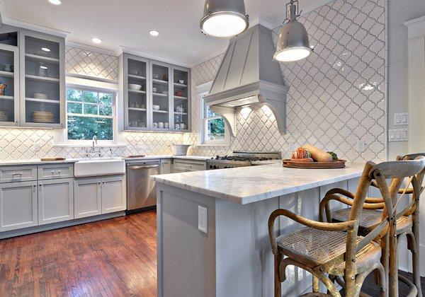 grey kitchen backsplash remodel ideas pictures 6 for gray cabinets light white tiles