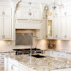 Kitchen Cabinets White Bookcase How To Design A Traditional With Ornate