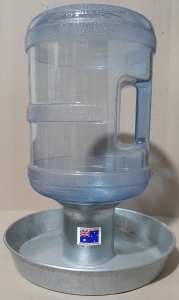 Poultry Drinker Bottle & Base